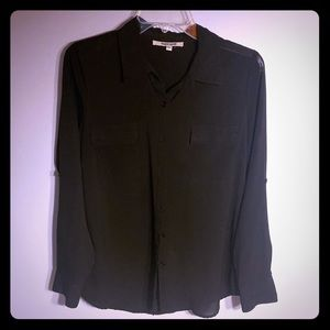 Women's black blouse size small